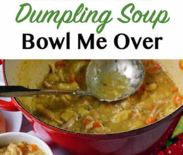 Chicken And Dumpling Soup Recipe With Mugs Of Soup Biscuits And A Pot Of Stew