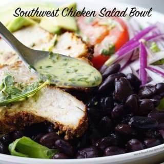 Super easy Chicken Salad Bowl