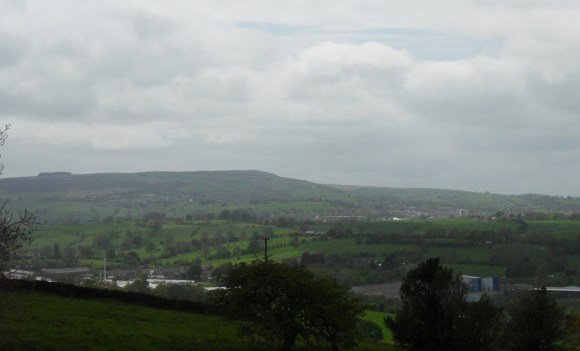Weets Hill, Barnoldswick and Earby.