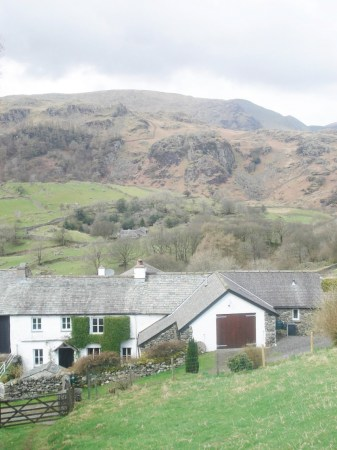 Kentmere farmstead.