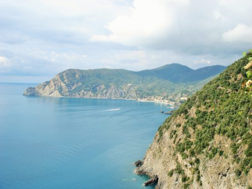 Looking back to Monterosso.