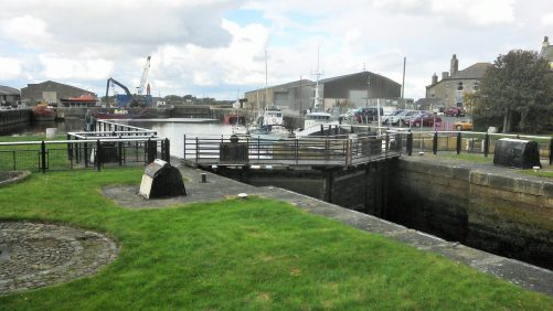 Glasson Dock.