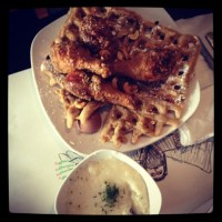 Dame's Almost Famous Chicken & Waffles