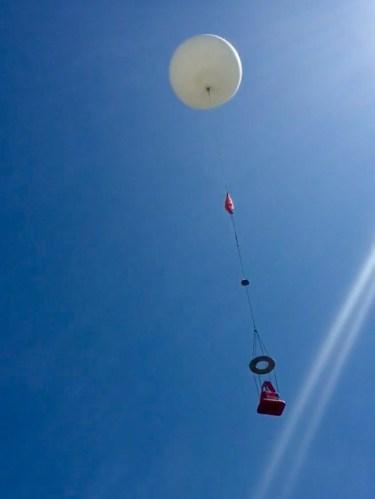 2017 Eclipse Day High Altitude Balloon