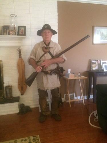 Kentucky Longhunter circa 1750-1800