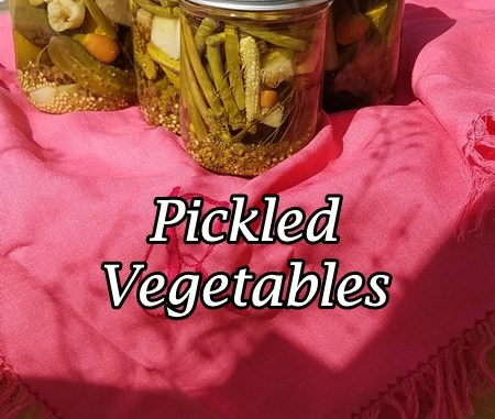 Montana Bowl of Cherries-How to can pickled vegetables