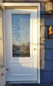 Montana Bowl of Cherries-finished front door