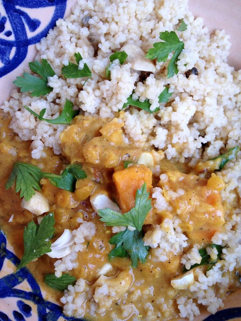 IMG 6458 768x1024 - Köstliches Gemüse-Curry und die Vorteile von Früchten und Nüssen am Essen