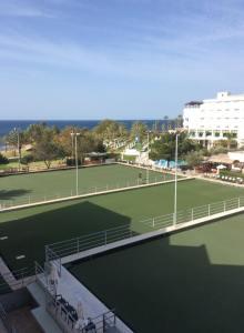 Athena Beach Hotel bowling greens