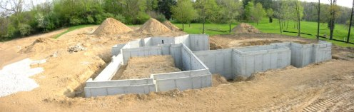 Foundation Walls Excavation - Pre Backfill