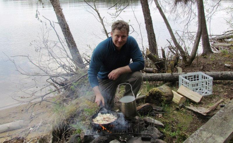 Shore Cooking Bow Narrows