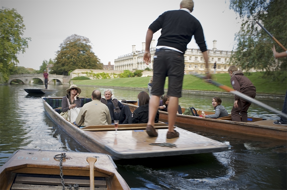 Photoshoot for Scudamores Punting Company Cambridge