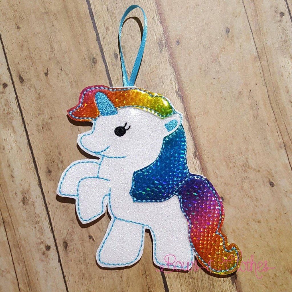 Unicorn 1 Christmas Ornament