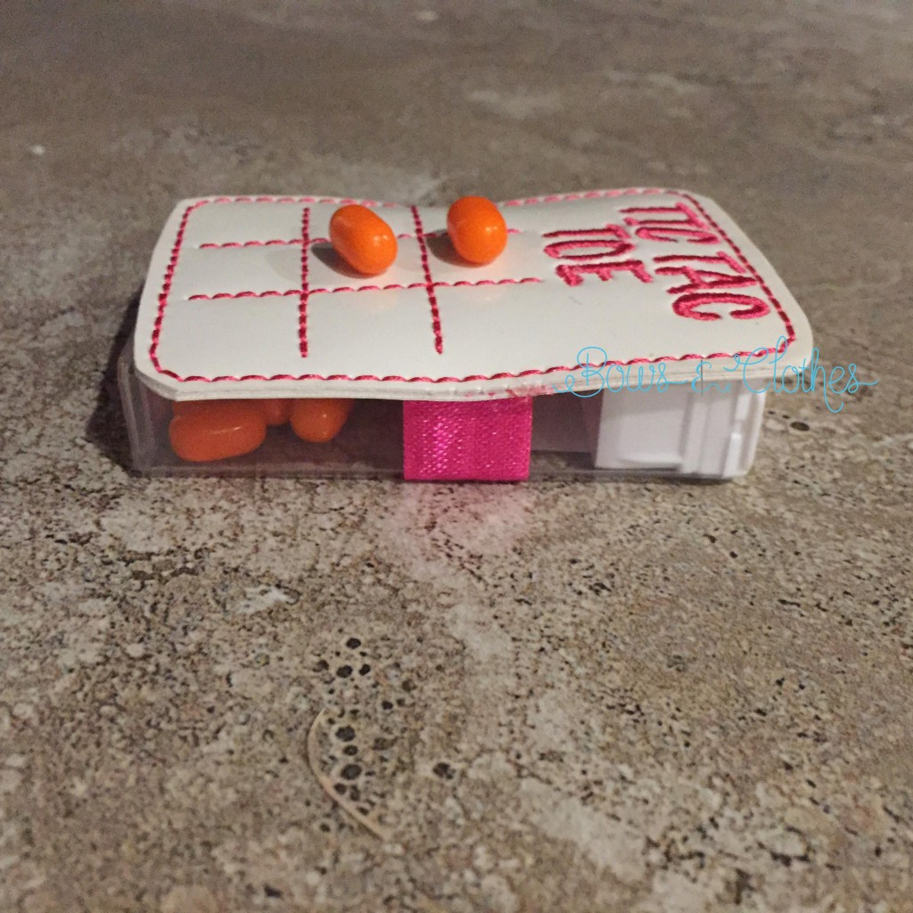 Tic Tac Toe Candy Holder