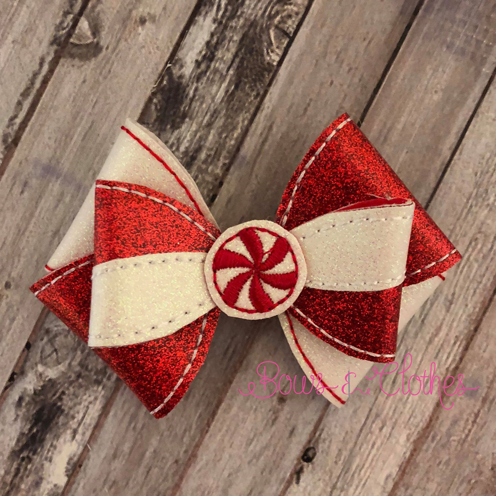 Peppermint 6 Loop Bow