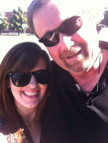 Me & my wonderful dad. Love this guy!