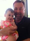 Best buds. Em & Grandpa.