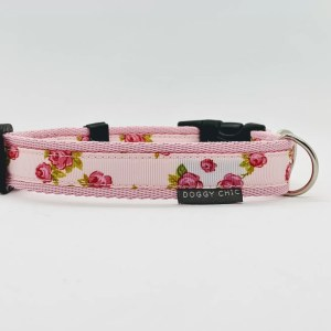 pretty floral collar for your dog