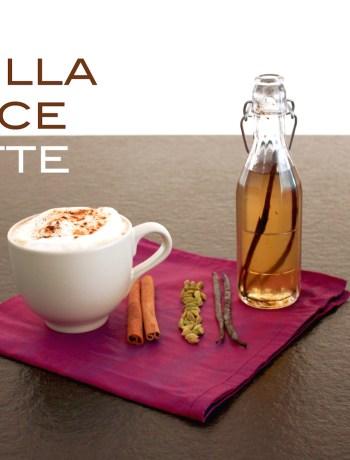 vanilla spice latte