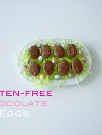 gluten-free chocolate eggs