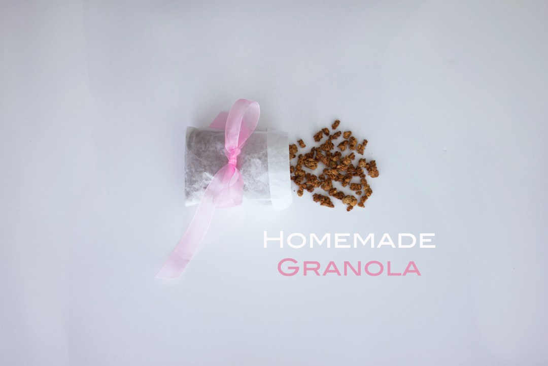 homemade almond granola
