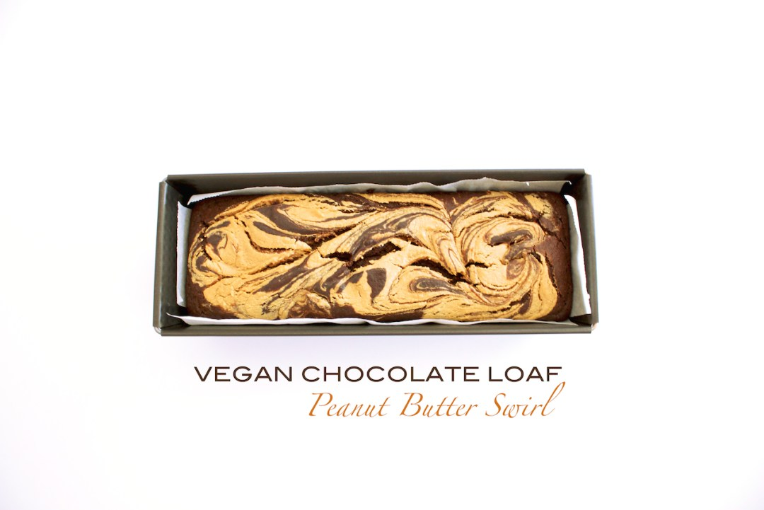 vegan chocolate loaf