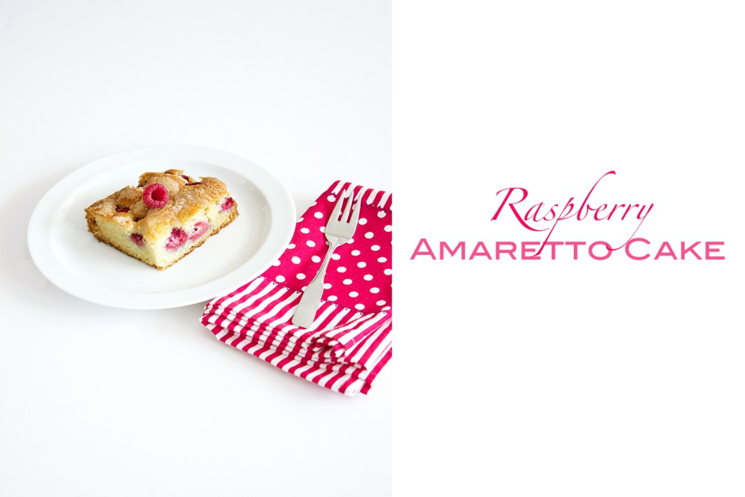 raspberry amaretto cake