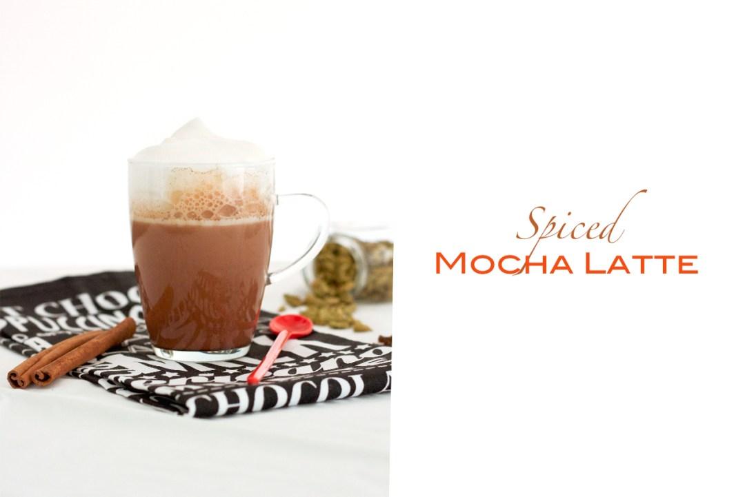spiced mocha latte