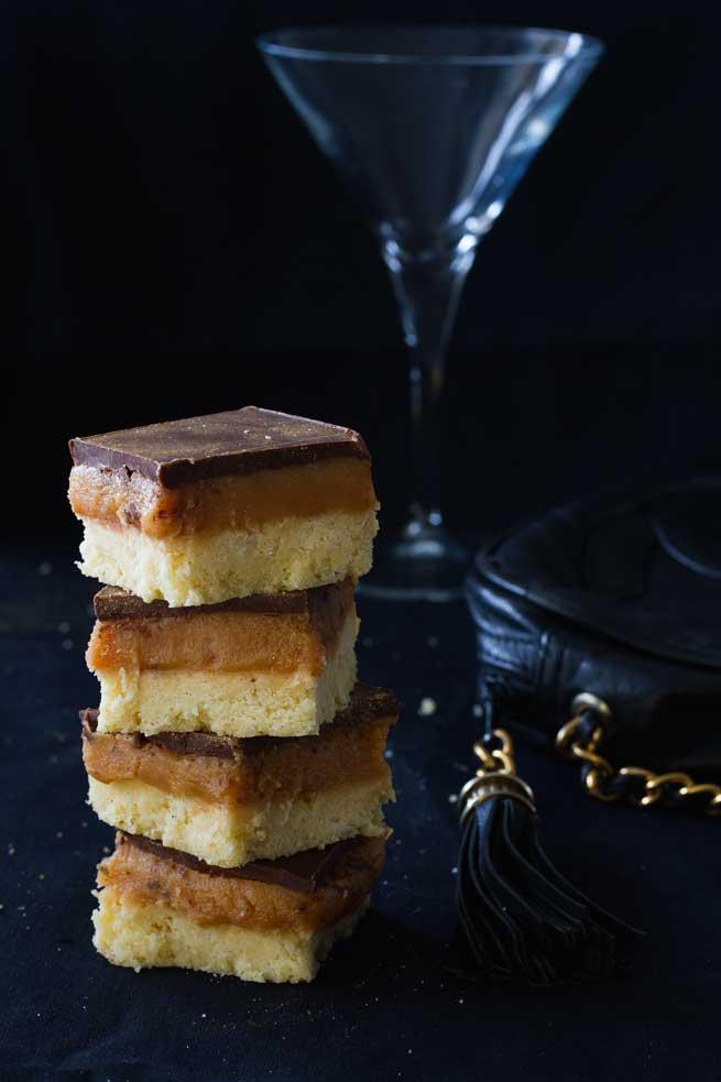 millionaire bars oscar snacks