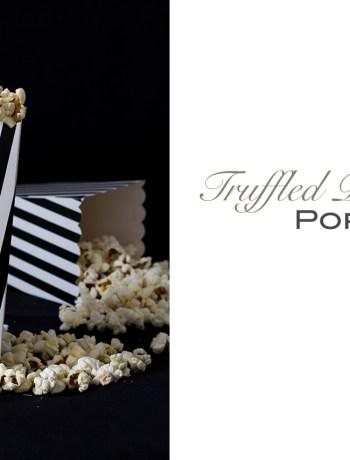 truffled parmesan popcorn