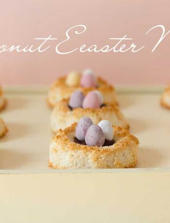 coconut easter nests