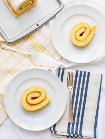 apricot swiss roll