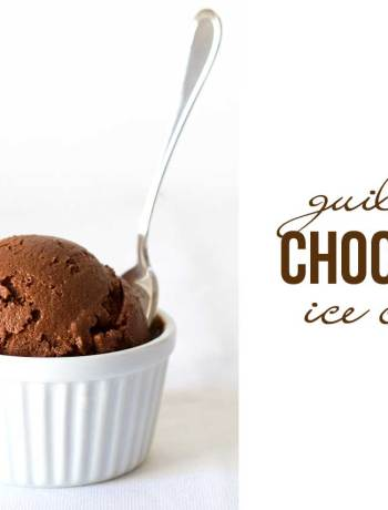 guilt free chocolate ice cream