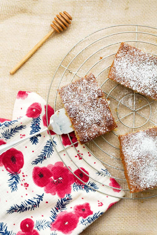 zucchini honey cake