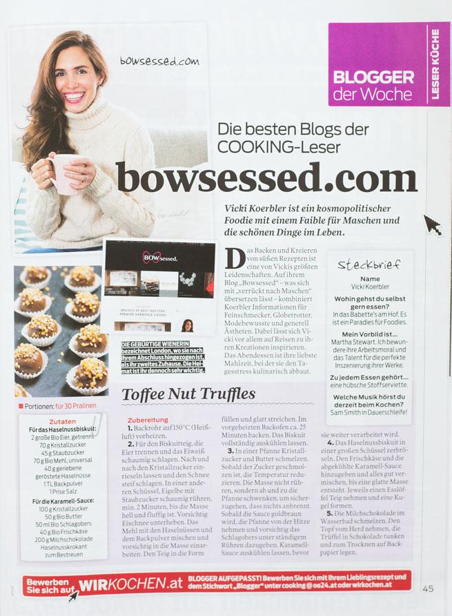 bowsessed vicki koerbler cooking magazin