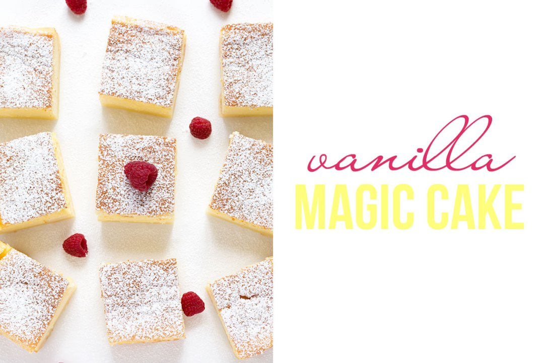 vanilla magic cake