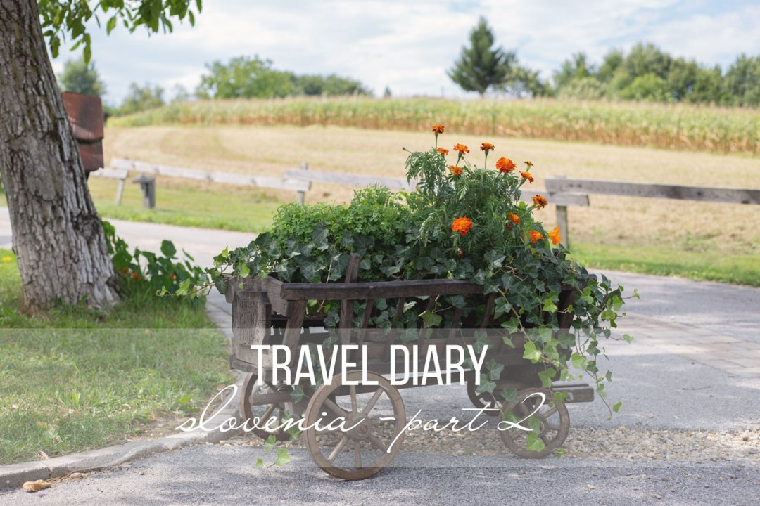 travel diary slovenia