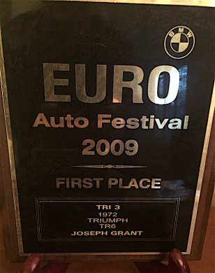 ...and the matching plaque!