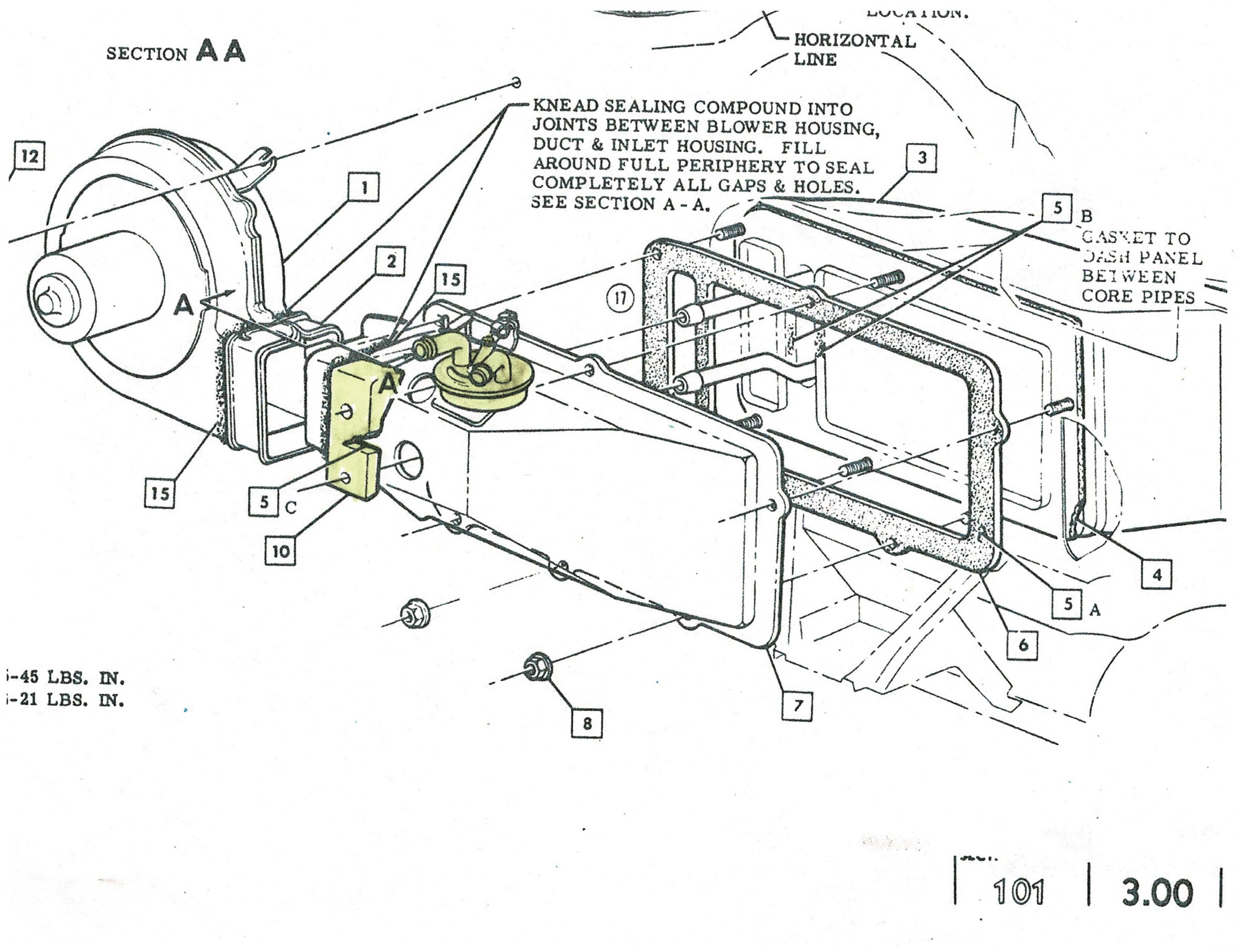 Chevy Heater Valve Amp Heater Hose Rubber Block