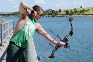 fish hunting bow