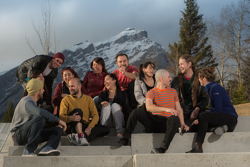 Bow Valley Non-Profits Canmore Banff young adults & cascade