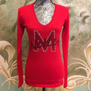 LMHS M-Nettes Red Fitted Tee