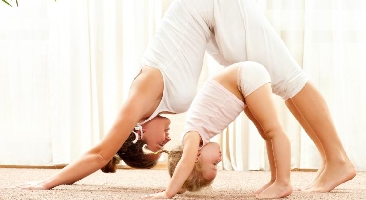 Gym maman bébé à la maison
