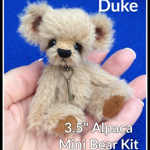 Duke miniature teddy bear making kit