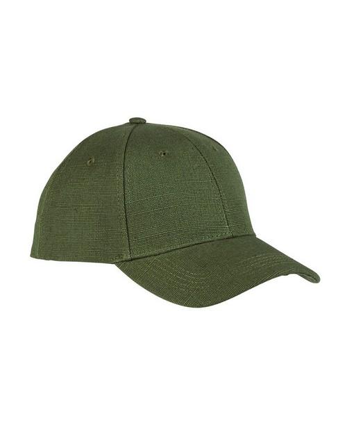 Olive Hemp Baseball Cap