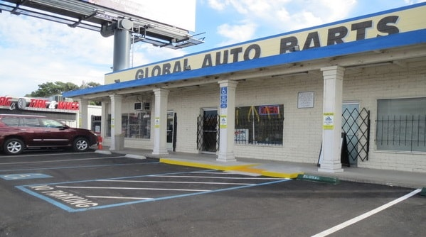 Global Auto Parts Storefront