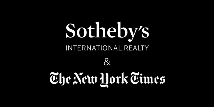 SOTHEBY'S INTERNATIONAL REALTY AND THE NEW YOUR TIMES