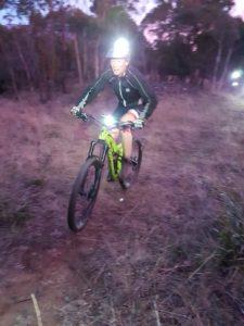 Night Riding on Mt Wellington