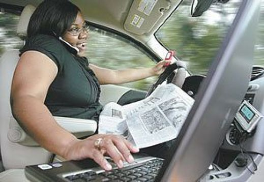 Massively Distracted Driver