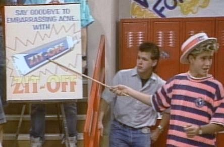 Zack Morris to the rescue.